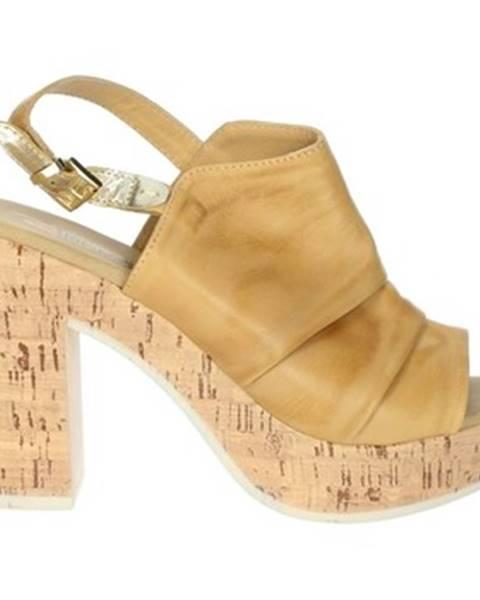 Béžové sandále Repo