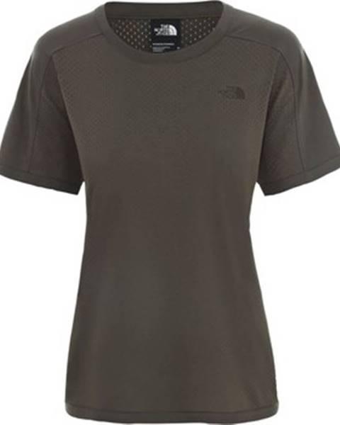 Hnedé tričko The North Face