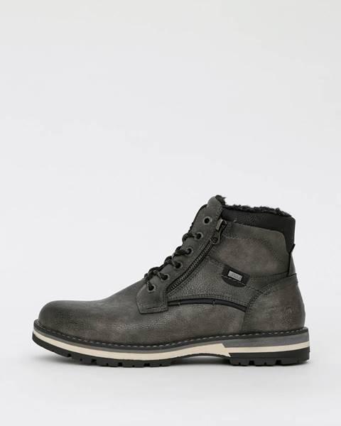 Sivé topánky Tom Tailor