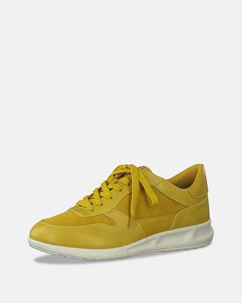 Žlté tenisky Tamaris