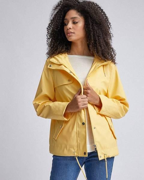 Žltá bunda Dorothy Perkins