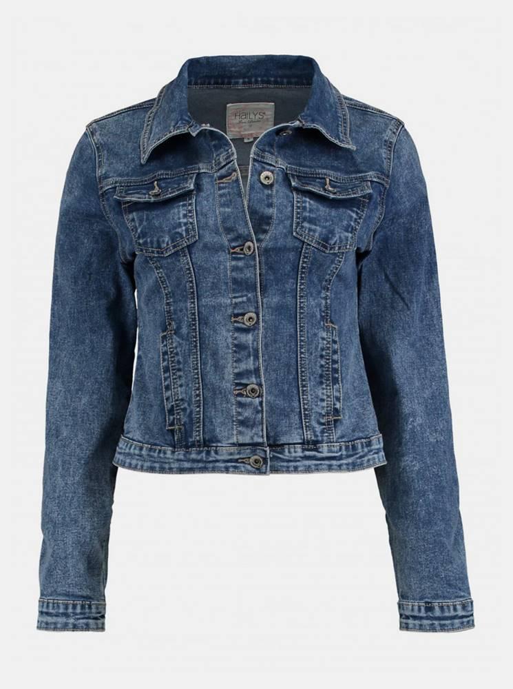 Haily´s Modrá rifľová bunda Haily´s Enny