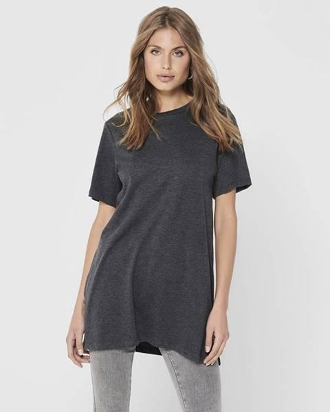 Tmavosivé tričko Jacqueline de Yong