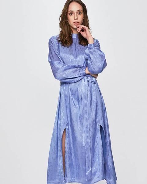 Modré šaty Glamorous
