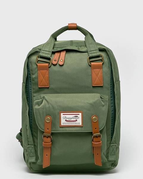 Zelený batoh doughnut