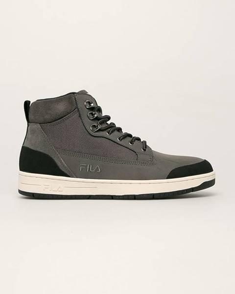 Sivé topánky Fila