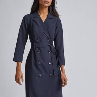 Tmavomodré šaty Dorothy Perkins Petite