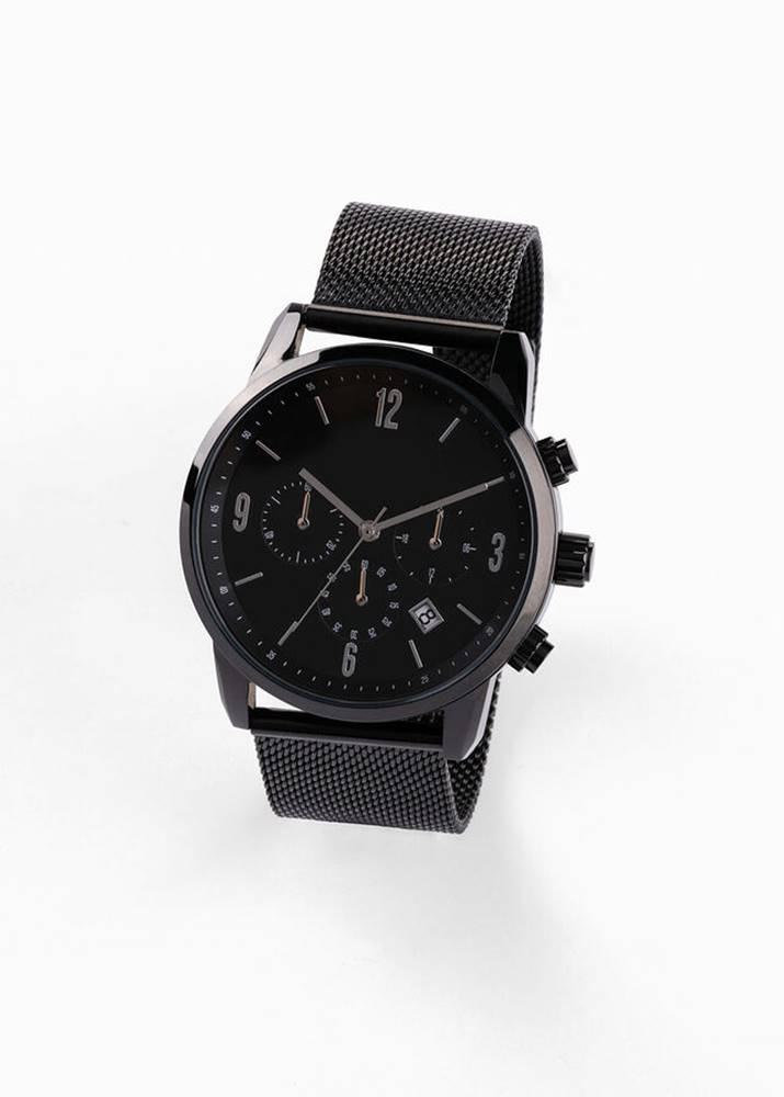 bonprix Pánska hodinky s chronografom, z ušľachtilej ocele