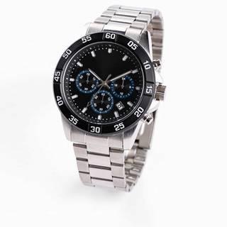 Pánske náramkové hodinky s chronografom