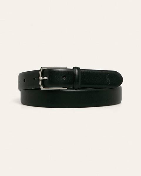 Čierny opasok Polo Ralph Lauren