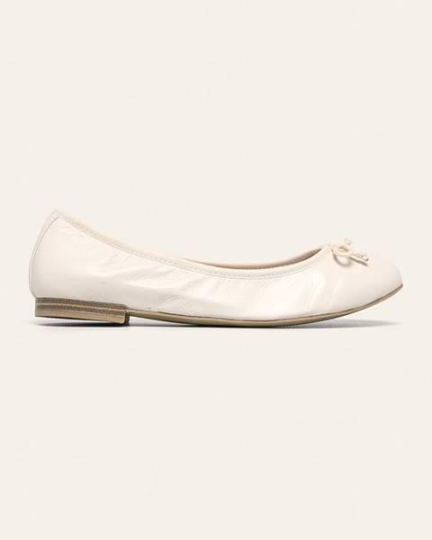 Biele balerínky Caprice