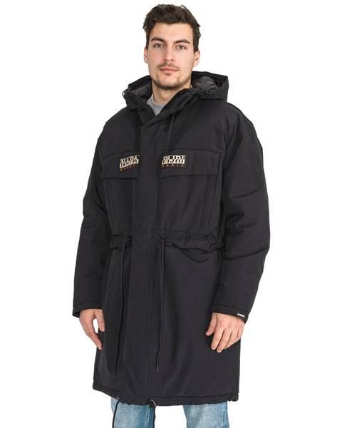 Čierna zimná bunda Napapijri
