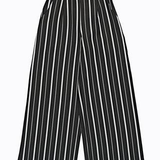 Široké prúžkované nohavice