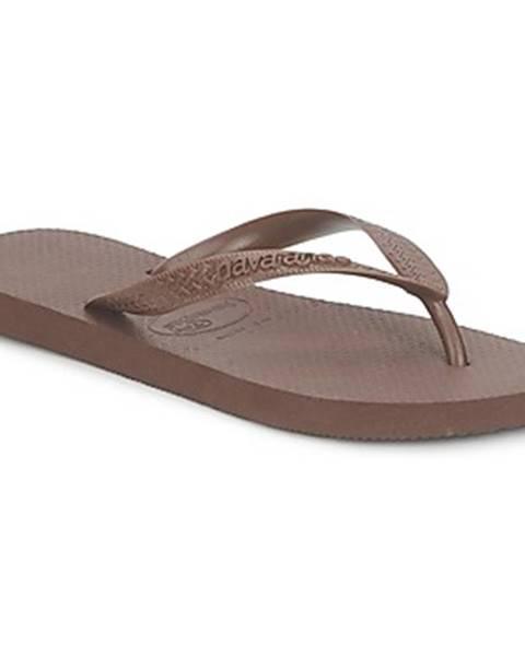 Hnedé sandále Havaianas