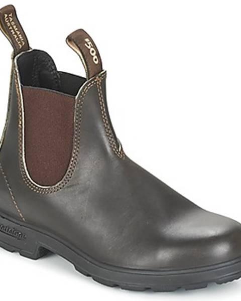 Hnedé topánky Blundstone