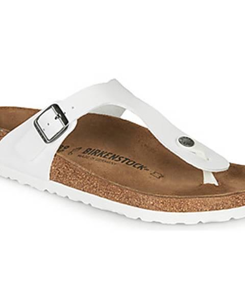 Biele sandále Birkenstock