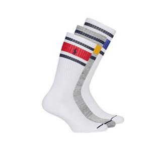 Ponožky Polo Ralph Lauren  3PK OC CH ST-CREW-3 PACK