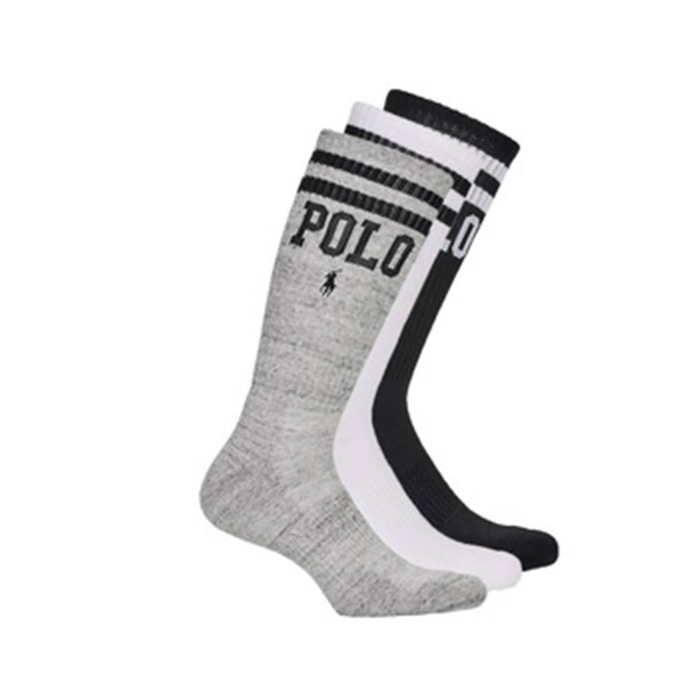 Polo Ralph Lauren Ponožky Polo Ralph Lauren  3PK DBLE BAR-CREW-3 PACK