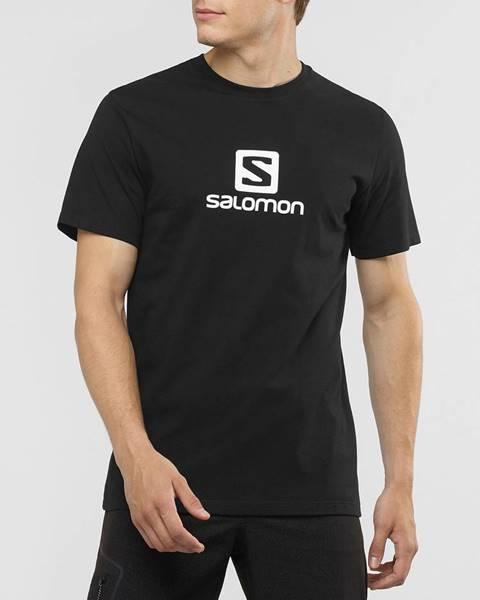 Čierne tričko Salomon