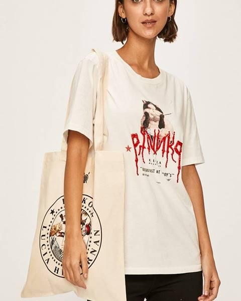 Biele tričko Pinko