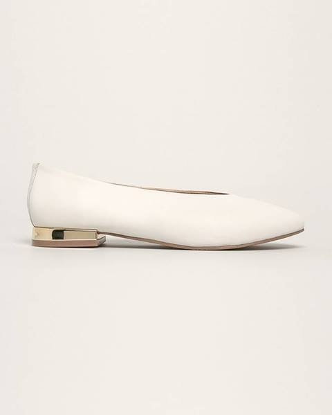 Biele balerínky Gioseppo