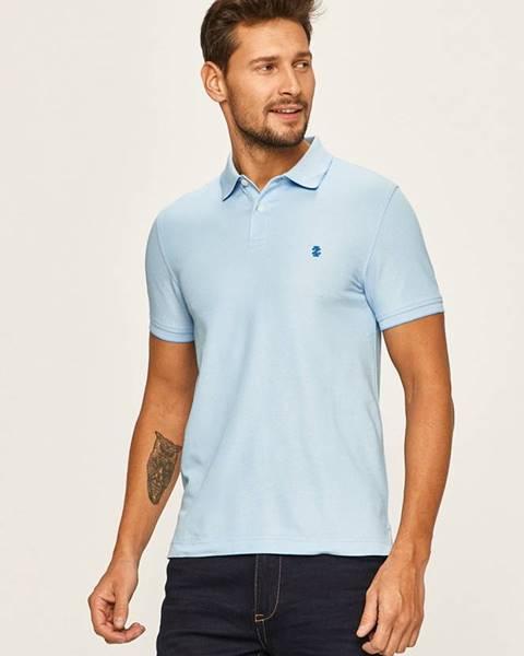 Modré tričko Izod
