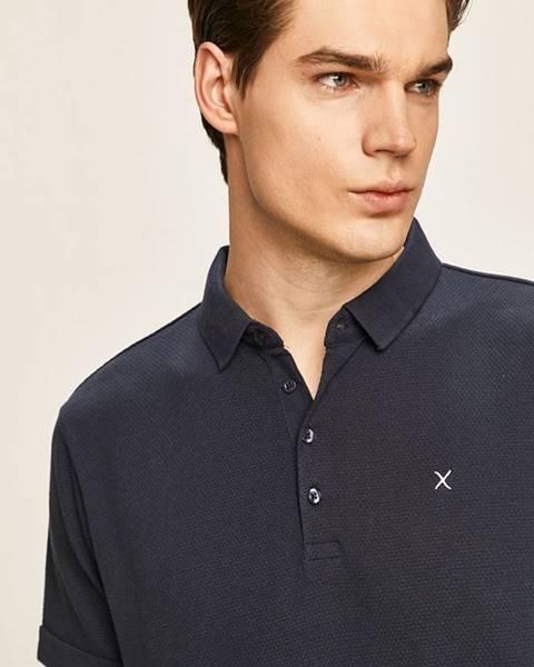 Tmavomodré tričko Clean Cut Copenhagen