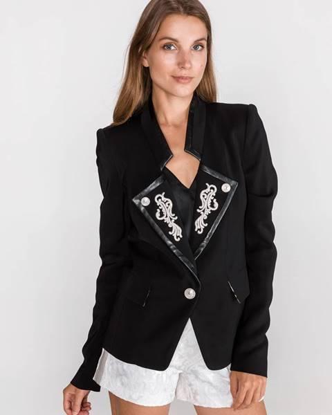 Čierne sako Just Cavalli