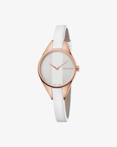 Biele hodinky Calvin Klein