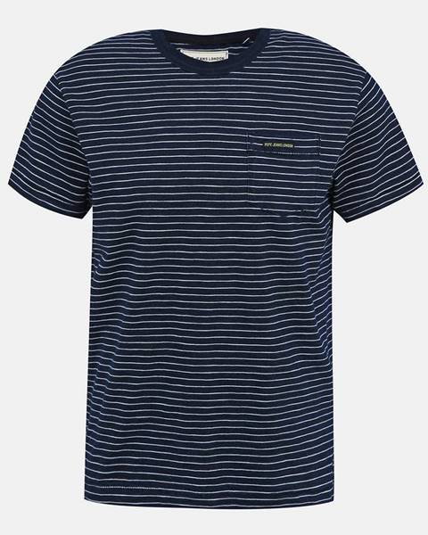 Tmavomodré tričko Pepe jeans