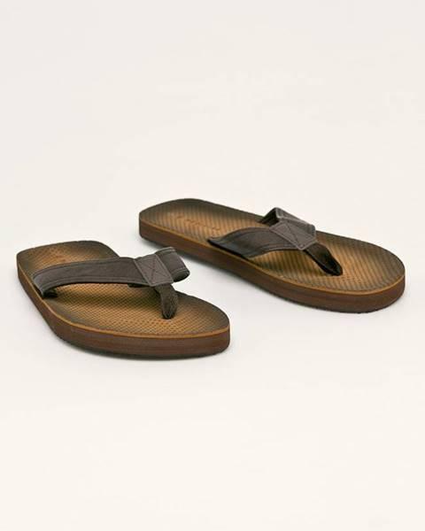 Hnedé sandále MEDICINE
