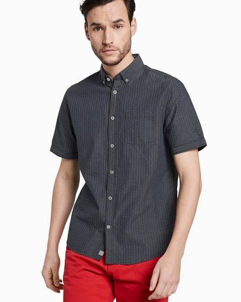 Sivá košeľa Tom Tailor