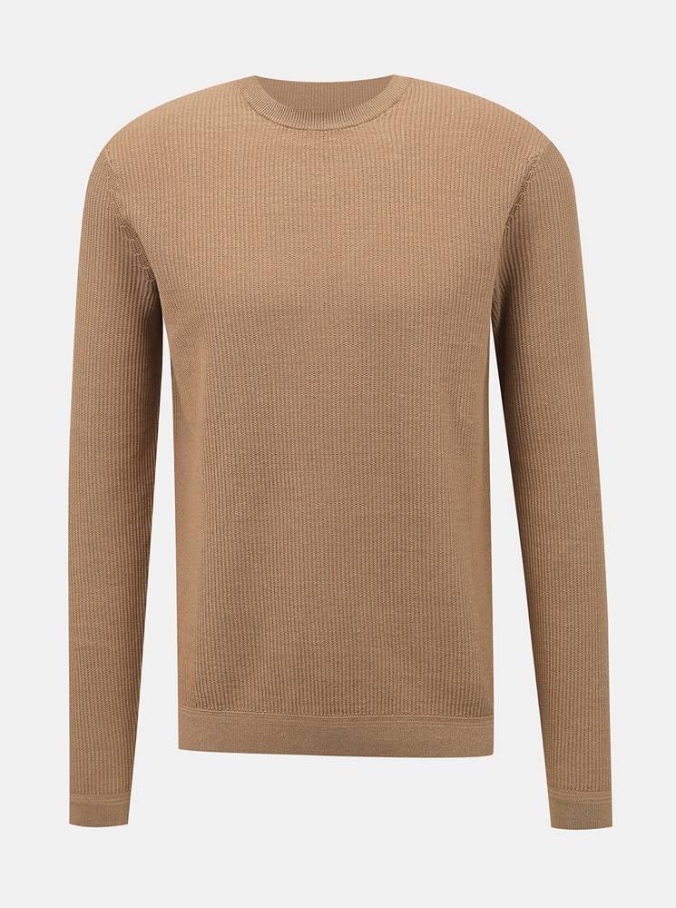ONLY & SONS Béžový sveter ONLY & SONS Dalton