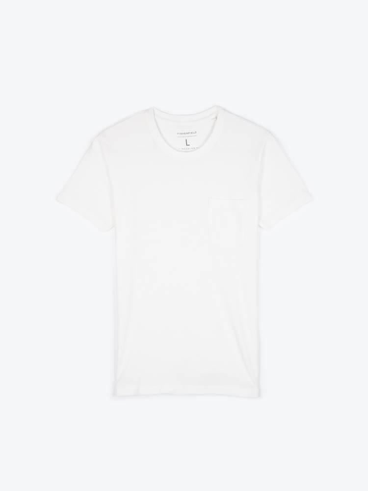 GATE Základné vafľové tričko s krátkym rukávom