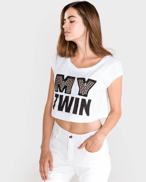 Biele tričko Twinset