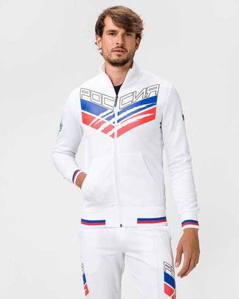 Biela bunda s potlačou Philipp Plein Sport