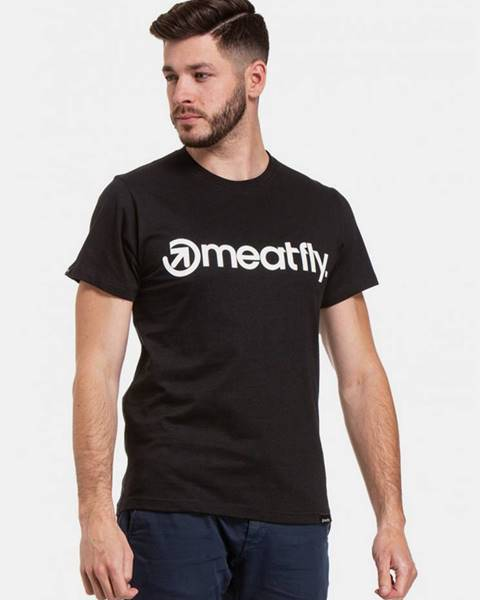 Čierne tričko Meatfly