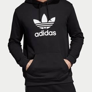 Mikina adidas Originals Trefoil Hoodie Čierna