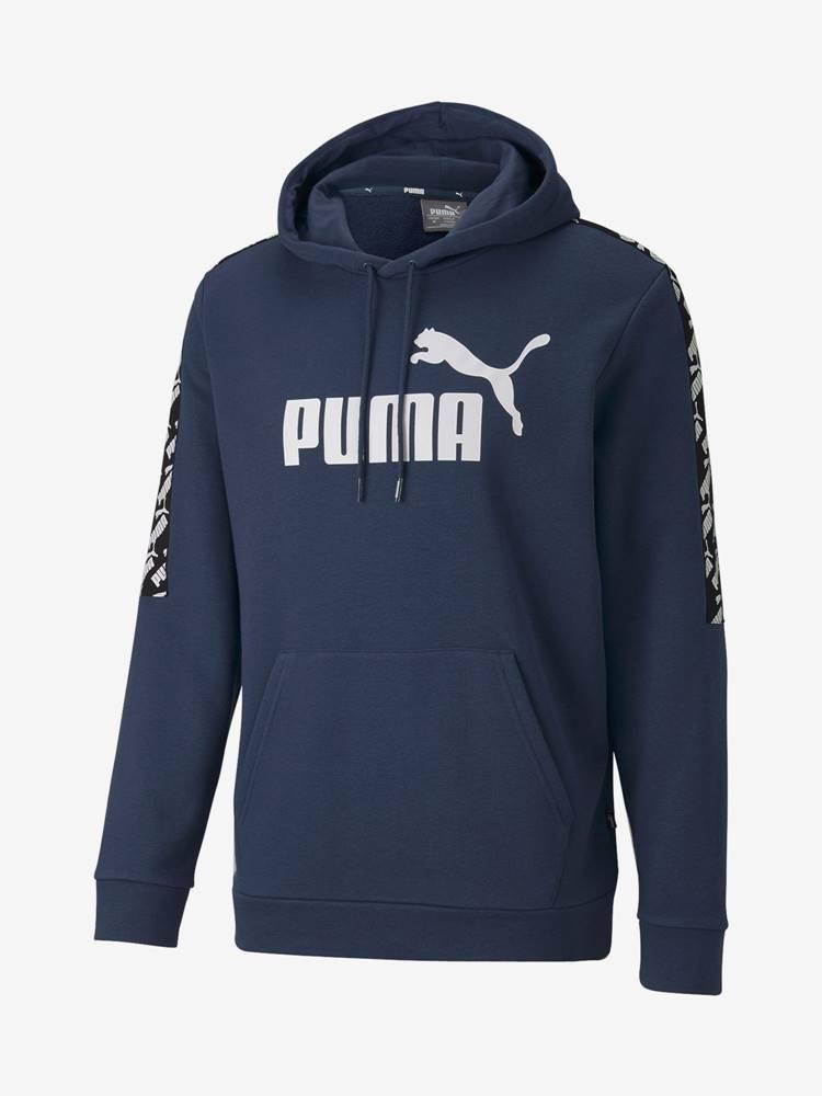 Puma Mikina Puma Amplified Hoody Tr Modrá