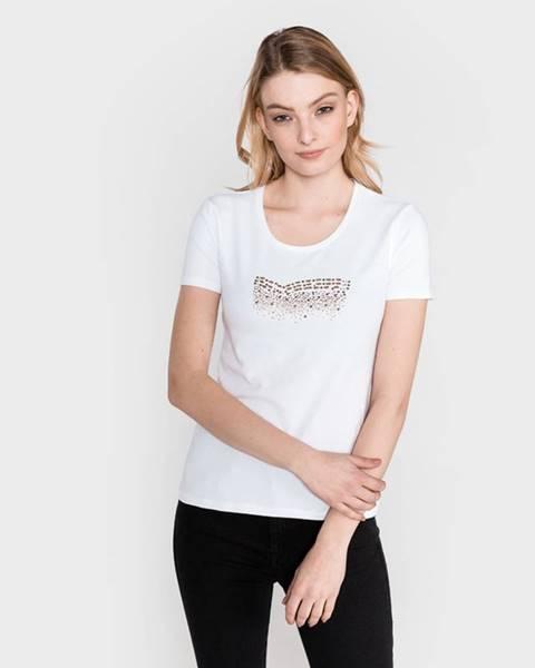 Biele tričko Gas