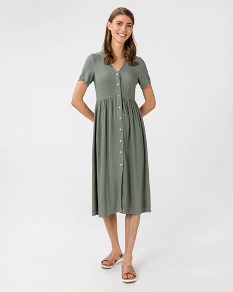 Zelená sukňa Vero Moda