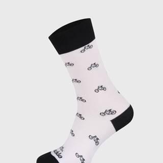 Ponožky  Cyklista biely