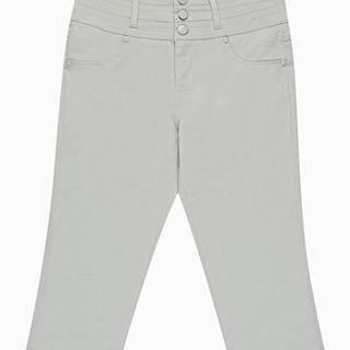 Trojštvrťové strečové nohavice
