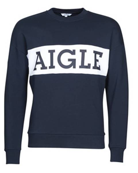 Modrá mikina Aigle