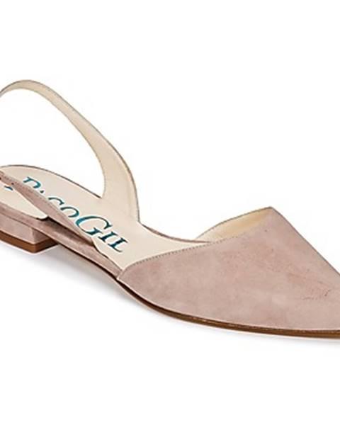 Béžové sandále Paco Gil