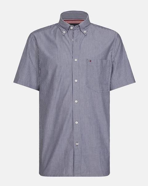 Sivá košeľa Tommy Hilfiger