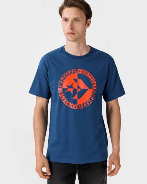 Modré tričko Converse