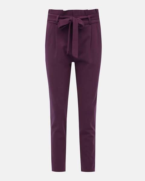 Vínové nohavice Vero Moda