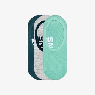 Vans Ponožky 3 páry Zelená Šedá