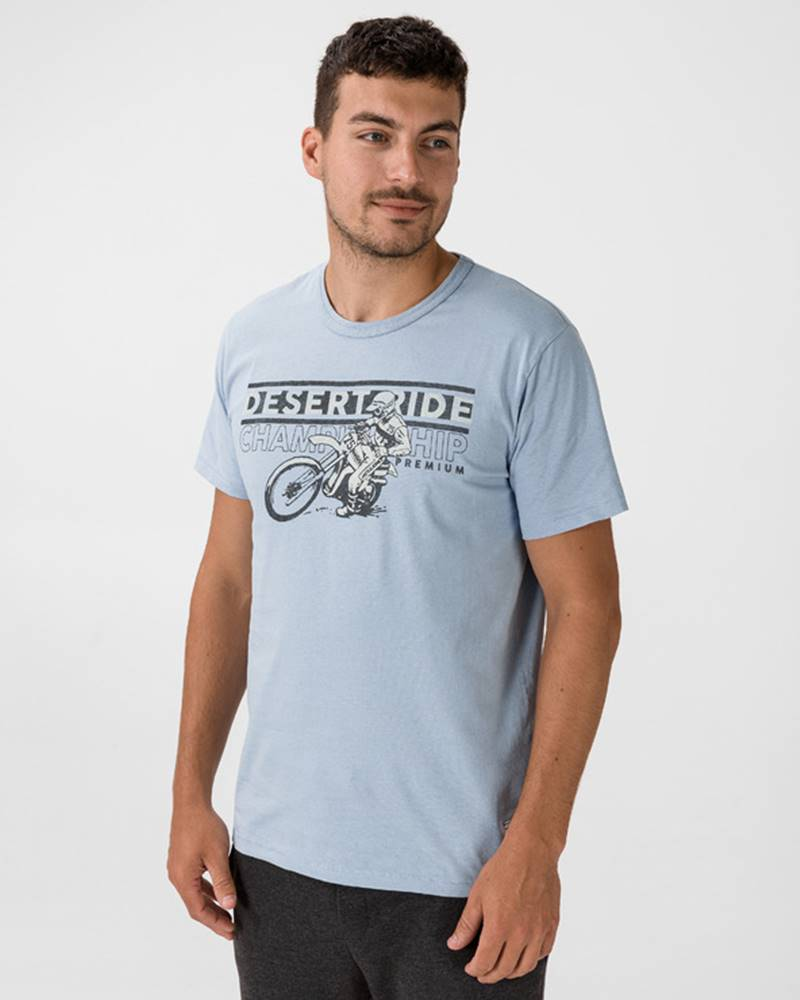 Jack & Jones Jack & Jones Brett Blu. Tričko Modrá